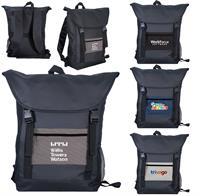 Houndstooth Pocket Strap Backpack