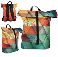 CPP-5723 - Full Color Roll Down Backpack