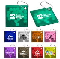 Square Mint Keyring