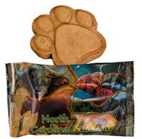CPP-5772 - Wrapped Up Paw Print Dog Cookie