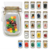 Mason Jar Bag Of Candy