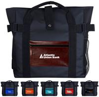 CPP-5784 - Shiny Pocket Tote Backpack