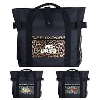 CPP-5798 - Leopard Pocket Tote Backpack