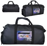 CPP-5803 - Full Color Pocket Duffle Bag