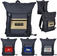 CPP-5826 - Metallic Pocket Strap Backpack