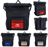 CPP-5832 - Metallic Pocket Cooler Combo Backpack
