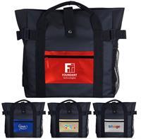 CPP-5842 - Metallic Pocket Tote Backpack