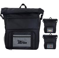 CPP-5849 - Reflective Pocket Cooler Combo Backpack