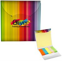 Colorful Sticky Note Folio