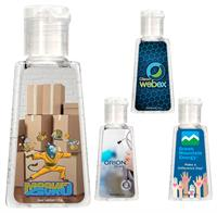CPP-6020 - Full Color Trapezoid Hand Sanitizer