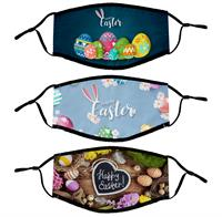 Lined Fabric Easter Face Mask