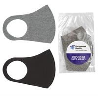 CPP-6131 - Dome Label Fabric Face Mask