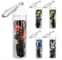 Cylinder Metallic Ear Bud Set