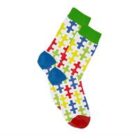 Autism Awareness Full Color Woven Socks