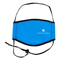 Lined Full Color Face Mask with Head Straps