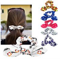 CPP-6234 - Full Color Bow Scrunchie