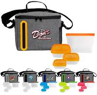 CPP-6485 - Portion Control & Food Bag Oval Cooler Lunch Set