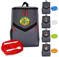 CPP-6495 - Victory Locking Lid Cooler Backpack Set