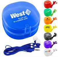Colorful Ear Bud Carry All