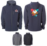 EXP35SSZ - INDEPENDENT TRADING CO. POLY-TECH WATER RESISTANT SOFT SHELL JACKET