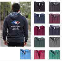 H8540 - Independent Trading Co. Unisex Zip Hooded Sweatshirt with Full Color Logo