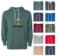 H8545 - Independent Trading Co. Unisex Pull Over Hooded Sweatshirt with Full Color Logo