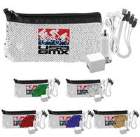 H8620 - Sequin 4-IN-1 Tech Pouch