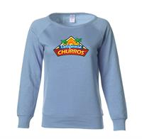 WOMEN'S LIGHTWEIGHT CREW NECK SWEATSHIRT
