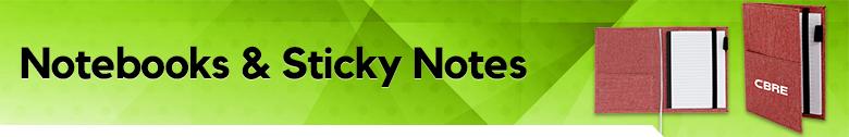 Notebooks & Sticky Note